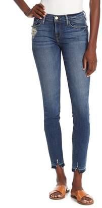 Frame Le Skinny de Jeanne Raw Hem Denim Jeans