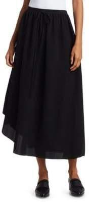 Loewe Women's Mini Dots Asymmetric Skirt - Black - Size 36 (4)