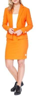 Opposuits Foxy Orange Skirt Suit