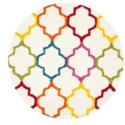 Safavieh Geometric Patterned Round Rug