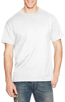 Hanes Men's Beefy-T Crew Neck Short Sleeve T-Shirt, up to 6xl