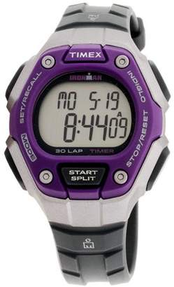 Timex Ironman Grey Digital Dial Plastic Strap Unisex Watch TW5K89500