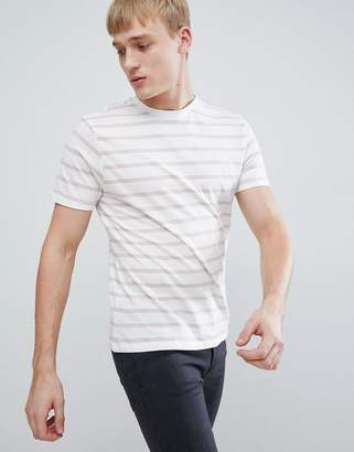 New Look T-Shirt With Stripes In Light Pink