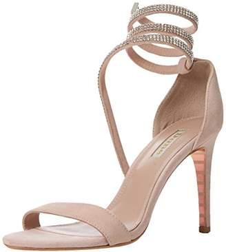 Dune Women's Mylie Open Toe Sandals, Pink Blush-Leather, 3 (36 EU)