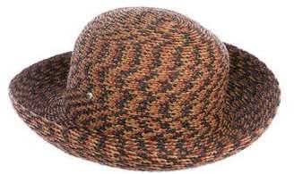 Helen Kaminski Woven Wide-Brim Hat
