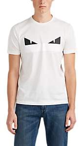 Fendi Men's Bag Bugs Cotton T-Shirt - White
