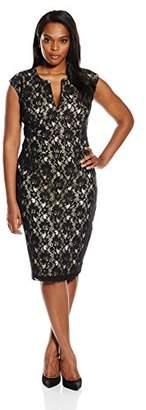 Single Dress Women's Plus-Size Lace Meg Dress $35.90 thestylecure.com
