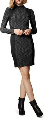 Karen Millen Paneled Body-Con Dress