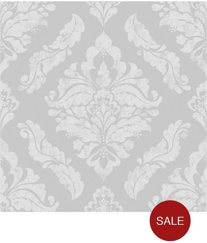 Damaris Silver Wallpaper