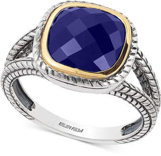 Effy Lapis Lazuli Ring (2-3/4 ct. t.w.) in Sterling Silver & 18k Gold