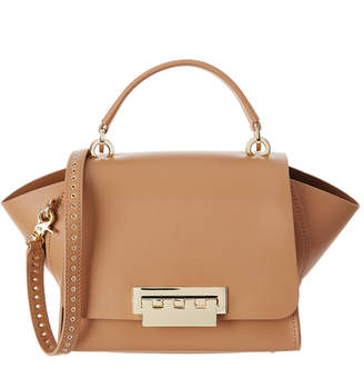 Zac Posen Eartha Leather Top Handle Crossbody Bag