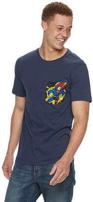 Licensed Character Men's Super-Man Pocket Tee