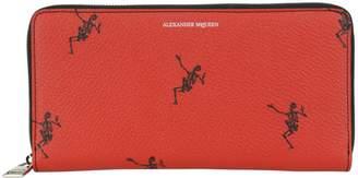 Alexander McQueen Dancing Skeleton Wallet