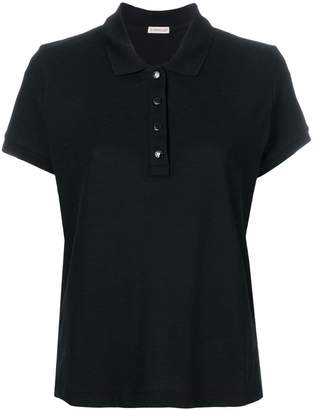 Moncler classic fitted polo shirt