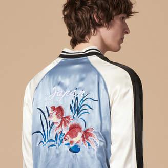 Sandro Floaty bomber jacket with fish motif