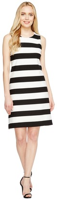 Christin Michaels - Exi Striped Shift Dress Women's Dress $79 thestylecure.com