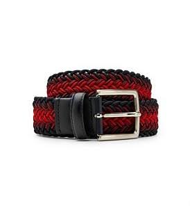 Calibre Red And Navy Elastic Belt