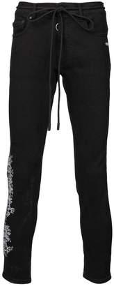 Off-White Gothic skinny jeans