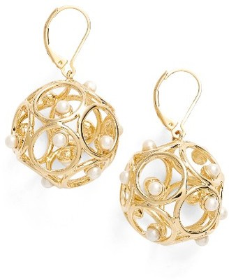 Women's Kate Spade New York Brilliant Bauble Drop Earrings $68 thestylecure.com