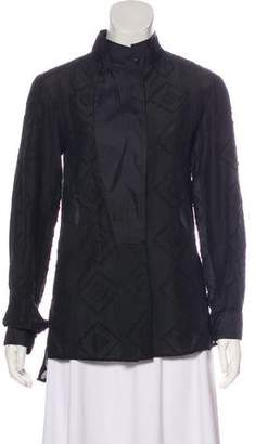 Maiyet Textured Long Sleeve Top