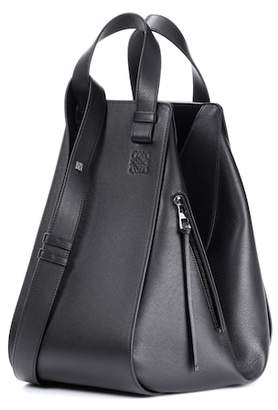 Loewe Hammock leather shoulder bag