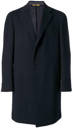 Canali cashmere single breasted coat