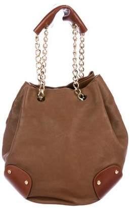 Burberry Leather Bucket Bag
