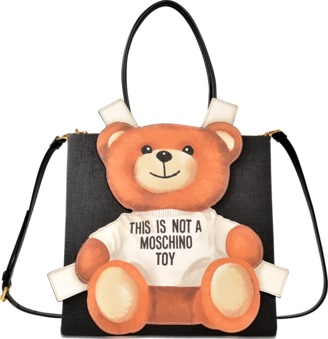 Moschino Toy shopping bag $770 thestylecure.com
