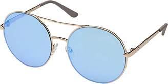 GUESS Women's Gu7559 Aviator Sunglasses