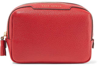 Anya Hindmarch Face Admin Textured-leather Cosmetics Case