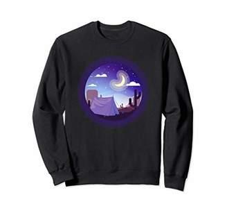 Camping Desert Nature Outdoors Sweatshirt