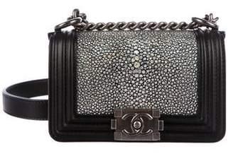 Chanel Mini Galuchat Boy Bag