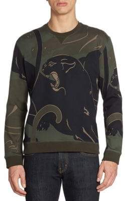 Valentino Camo Pather Army Tee