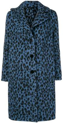 Ermanno Scervino leopard print coat