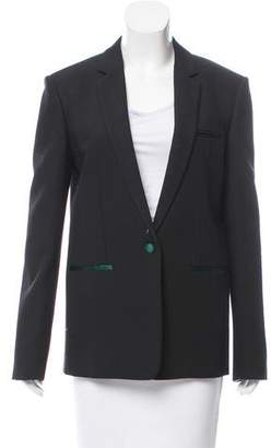 Celine Tailored Wool Blazer