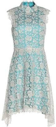 Catherine Deane Izzy Metallic Guipure Lace Dress