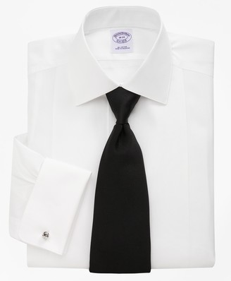 Brooks Brothers Bib-Front Spread Collar Tuxedo Shirt