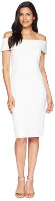Calvin Klein Off the Shoulder Sheath Dress Women's Dress