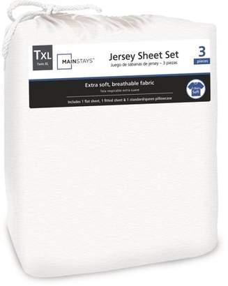 Mainstays Jersey Knit Sheet Set
