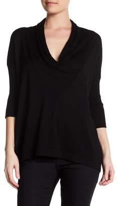 Cullen Easy Drape Cowl Neck Silk Blend Pullover $159 thestylecure.com