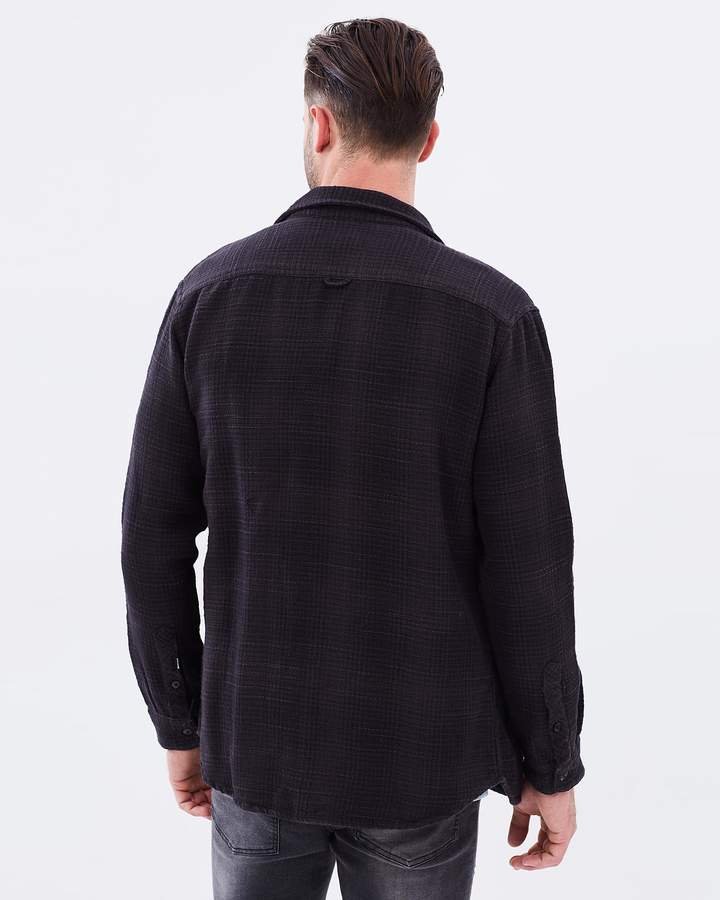Quiksilver Mens Rich Purity Long Sleeve Shirt