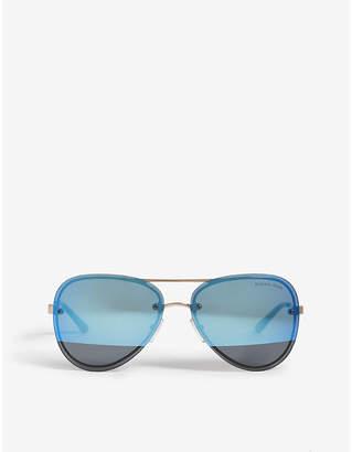 Michael Kors La Jolla aviator-frame sunglasses