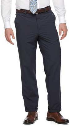 Croft & Barrow Men's True Comfort 4-Way Stretch Classic-Fit Flat-Front Dress Pants