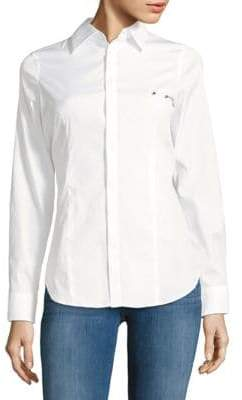 DSQUARED2 Point Collar Button-Down Shirt