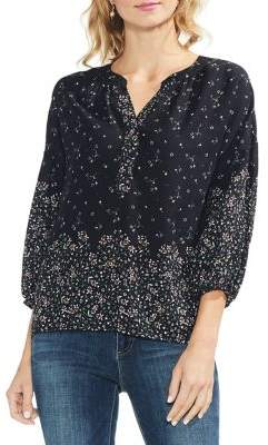 Vince Camuto Whimsical Balloon-Sleeve Blouse