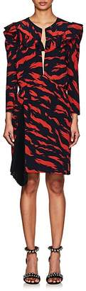 Givenchy Women's Abstract-Print Silk Dress