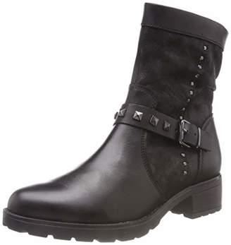 Comb 25412 Boots Ankle 21 9 Women's Caprice 019 Black 9 xwzBO