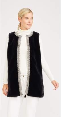 J.Mclaughlin Rosalyn Faux Fur Vest