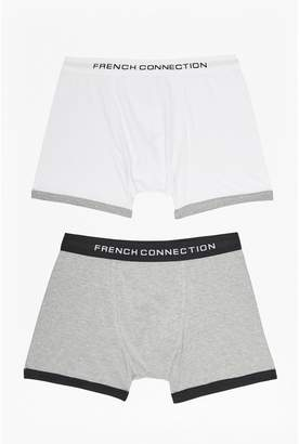 French Connection Contrast Band Pack of 2 Pants