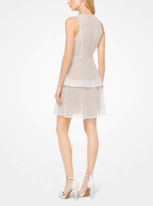MICHAEL Michael Kors Tiered Floral Lace Dress